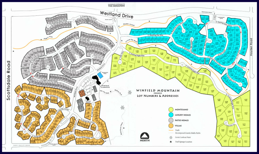 Winfield Community Map